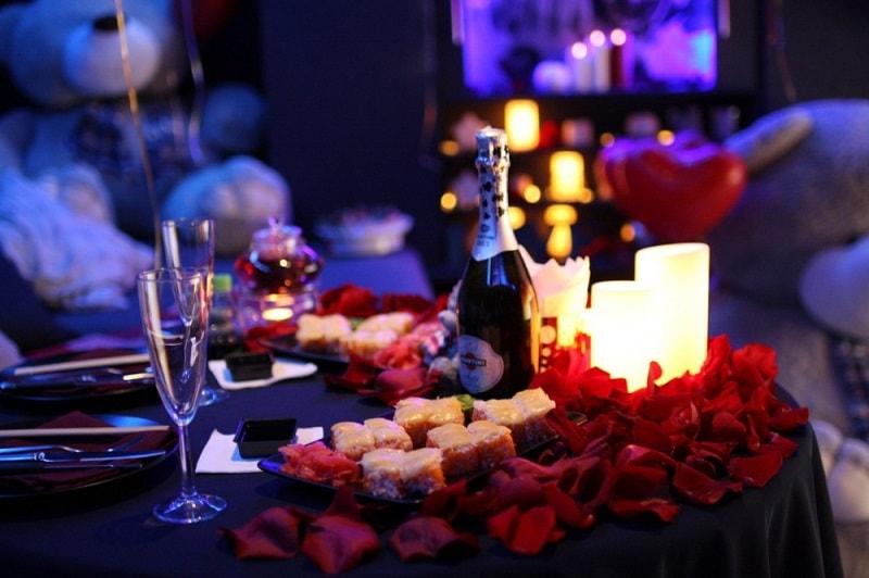 Разных, картинки вечер при свечах