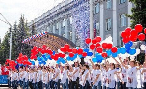 флэшмоб в москве