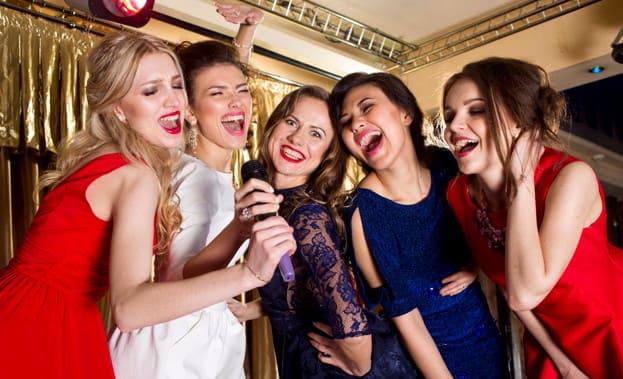 Фото девичника в ночном клубе