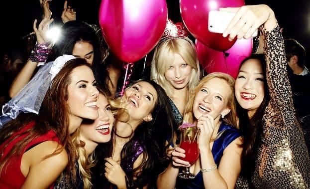 Фото девишника в клубе
