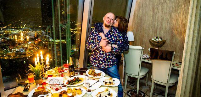 романтический ужин для двоих в москва сити