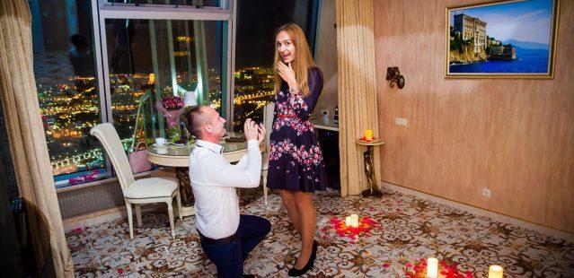 романтическое свидание для двоих в москве сити