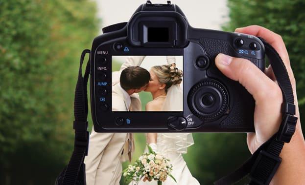 Жених и невеста на фото