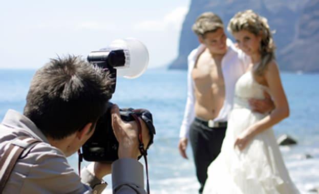 Фото съемки пары на побережье