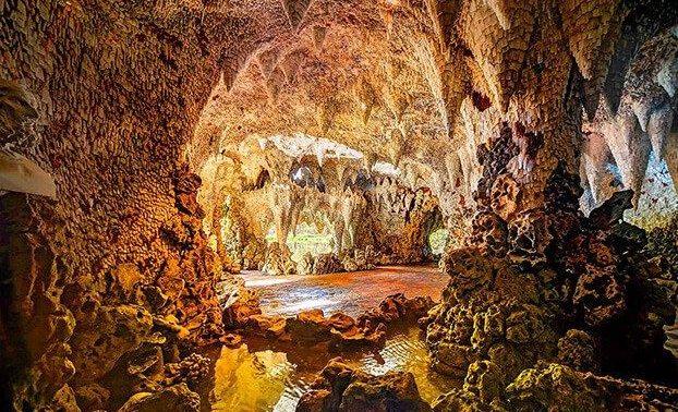 ужин в соляной пещере