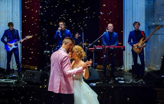 Фото свадебного танца под музыку