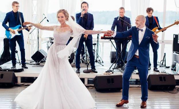 Фото свадебного танца