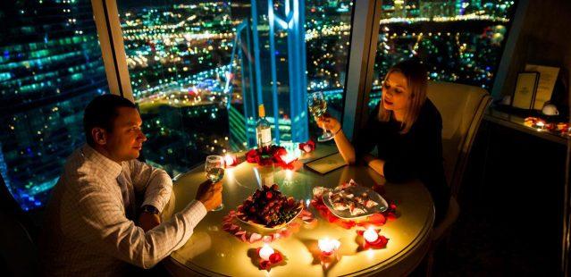 свидание на крыше Москва-Сити