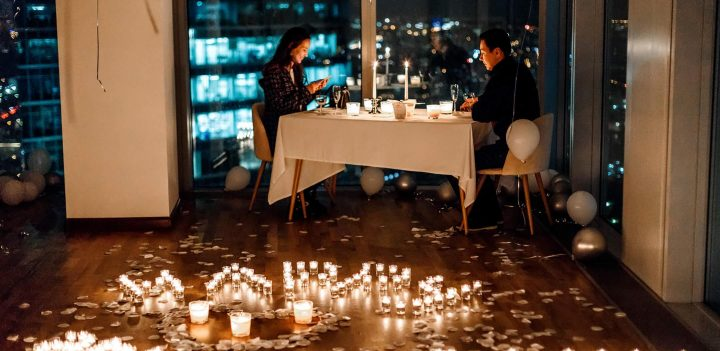 свидание в Москва-Сити