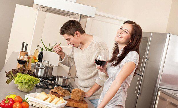 кулинарное свидание для двоих