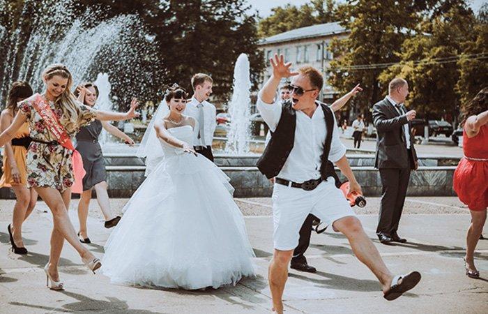 свадебные флэшмобы