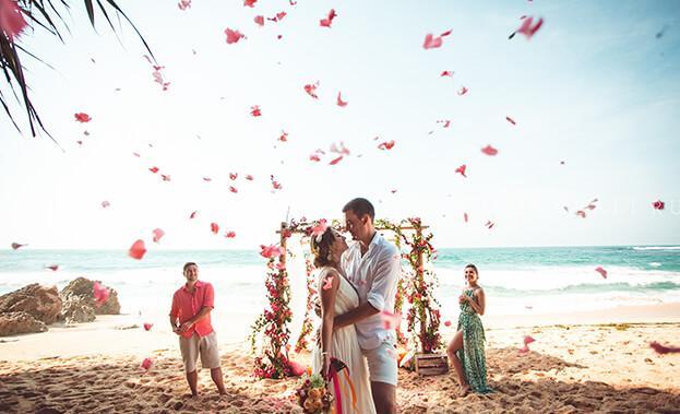 Фото свадебной церемонии на Бали