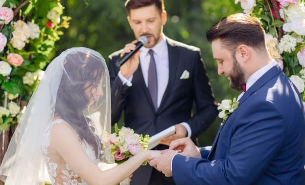 Фото обручения пары