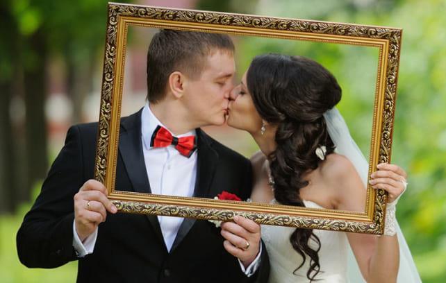 Фото молодожен на свадьбе