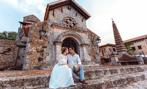 Фото пары в Доминикане