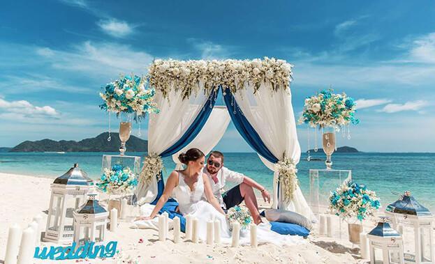 Фото свадьбы на пляже Таиланда