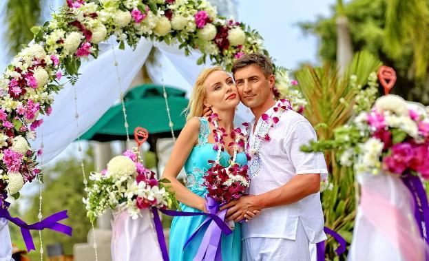 Фото жениха и Невесты в Таиланде