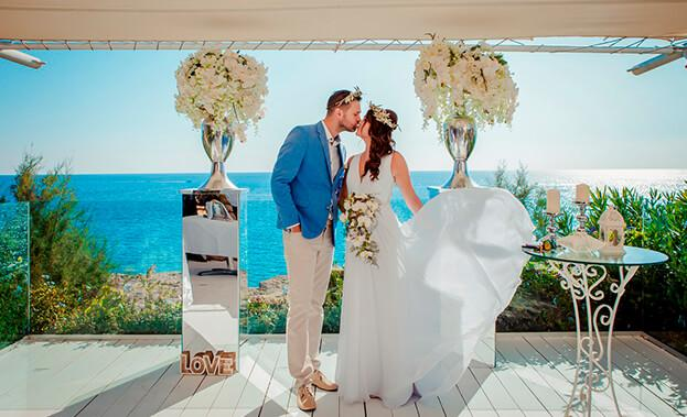 Фото свадьбы за границей
