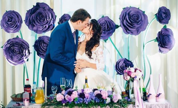 Фото свадьбы со цветами