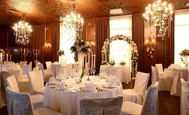 Фото украшения зала на свадьбу