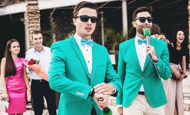 Фото ведущих на свадьбе