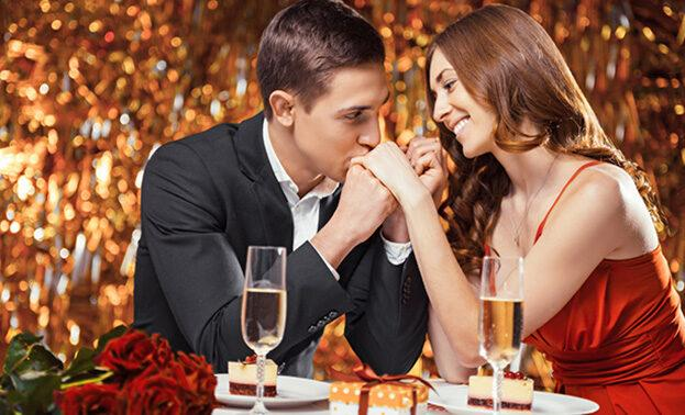 романтический ужин на двоих на новый год