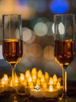 романтический ужин в ресторане москва
