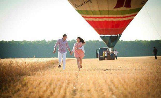 свидание на воздушном шаре