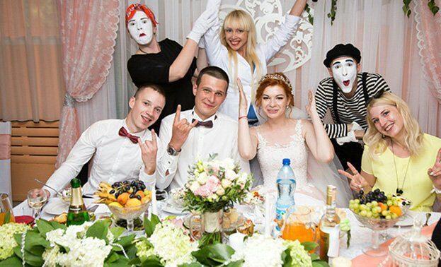Фото мимов на свадьбе