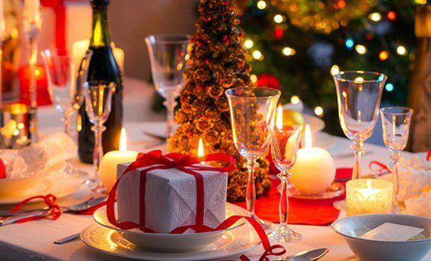 романтический ужин на новый год с любимым