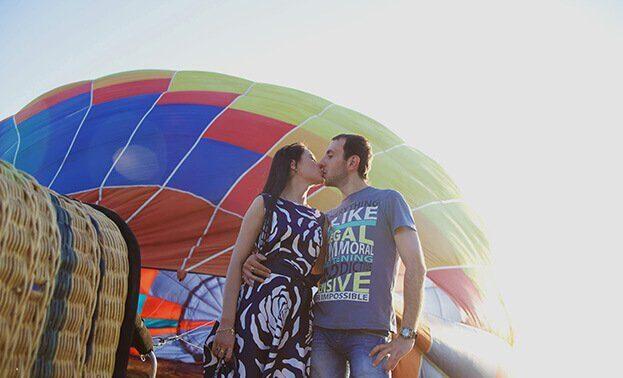 предложение замуж воздушный шар