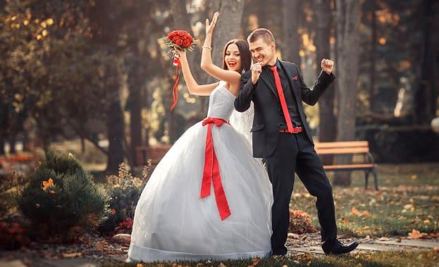 Фото танцановобрачных