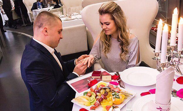 романтическое свидание в останкинской телебашне