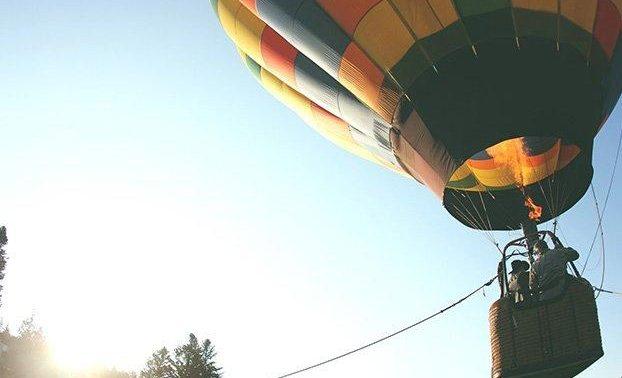 организация свидание на воздушном шаре