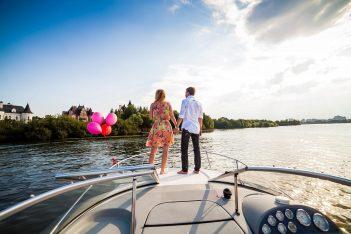 Незабываемое свидание на парусной яхте