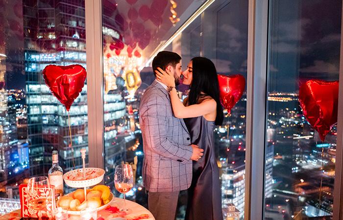 романтический вечер для двоих в Москва Сити