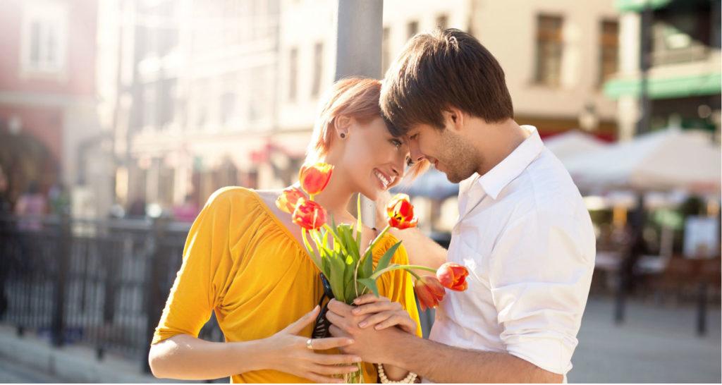 фото пары весной